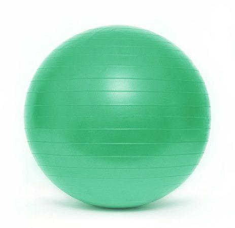 Gimnasztikai labda PREMIUM Durranásmentes 75 cm pumpával SMJ Zöld