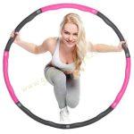 Hullahopp karika tornakarika Pink Sensitive masszázs 100 cm-es PRO-Sport