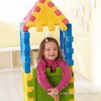 Óriás fejlesztő, érzékelő kocka - építhető torony WEPLAY