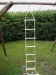 Kötéllétra, fa, natúr - 12 fokos 4 méteres PRO-SPORT