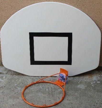 Kosárpalánk szett Streetball 120×90 cm Gyűrűvel és hálóval