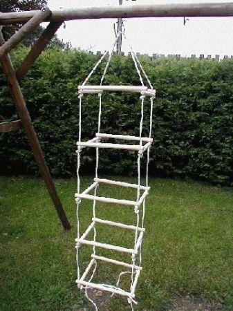 Négyoldalú kötéllétra, fa 2 méteres PRO-SPORT