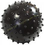 Tüskés masszírozó labda 13 cm Fekete  EB-Fit