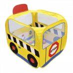 Iskolabusz játszósátor, színes labdákkal Ks Kids