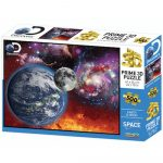 Föld Hold Discovery Channel 3D puzzle. 500 darabos PRIME 3D