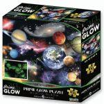 Naprendszer neon puzzle, 100 darabos PRIME 3D