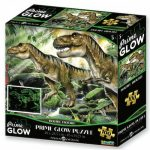 Dinoszauruszok neon puzzle, 100 darabos PRIME 3D