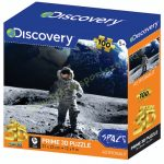 Űrhajós a Holdon Discovery Channel 3D puzzle. 100 darabos PRIME 3D