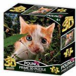 Cica 3D puzzle 63 darabos PRIME 3D