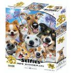 Állati szelfi 3D puzzle, 100 darabos PRIME 3D