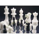 Profi Rolly toys Kültéri sakkszett, sakk készlet kicsi