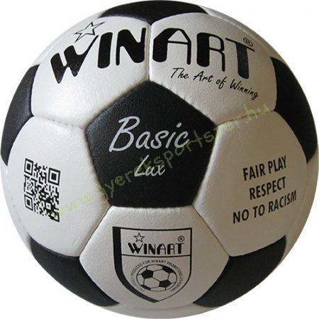 Focilabda, futball labda bőr, WINART BASIC mérete 4-es