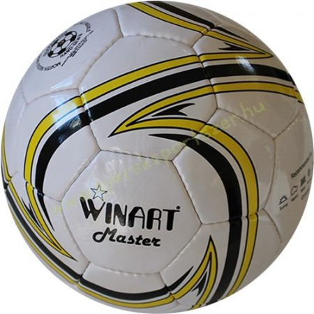 Focilabda, futball labda Műbőr 5-ös méret WINART MASTER