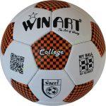 Focilabda, futball labda Műbőr 5-s méret WINART COLLEGE