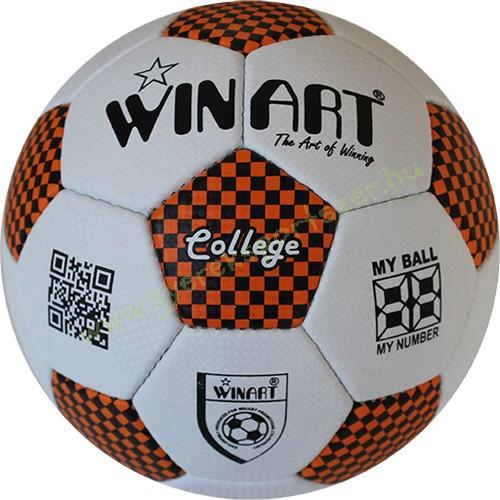 dbf1dc44c3cb Focilabda, futball labda Műbőr 5-s méret WINART COLLEGE - Sportszer ...