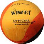Verseny vízilabda, WINART SWIRL 4-es junior, női narancs-fekete-sárga