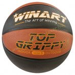 Kosárlabda WINART TOP Grippy Barna/Fekete 5-ös méret