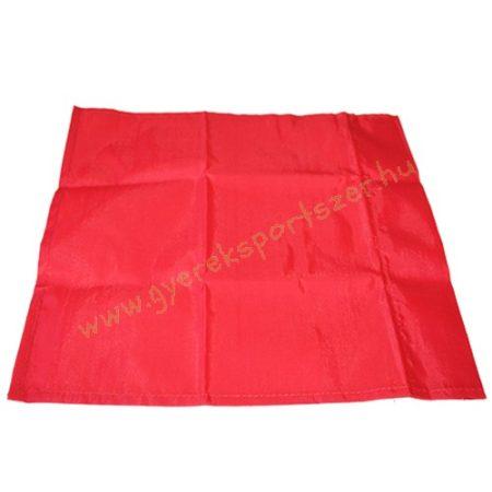 Szögletzászló szett piros 4db (csak zászló) 45x45cm