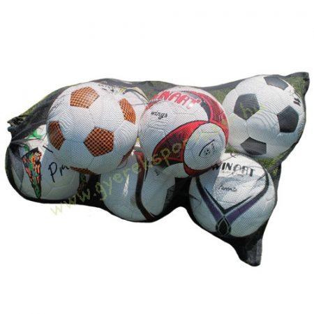 Labdatartó háló sűrű szövésű (90 x 60 cm 5 – 7 db No. 5 méretű labdához) WINART