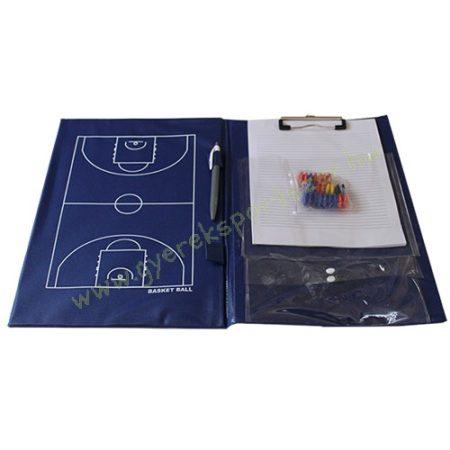 Kosárlabda taktikai tábla, Kosárlabda edzői mappa