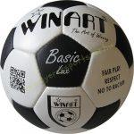 Focilabda, futball labda bőr, WINART BASIC LUX méret: 5-ös