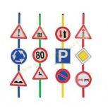 Közlekedés, kresz ( kresz táblák)