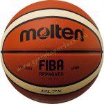 MOLTEN BGL7X, valódi bőr verseny kosárlabda